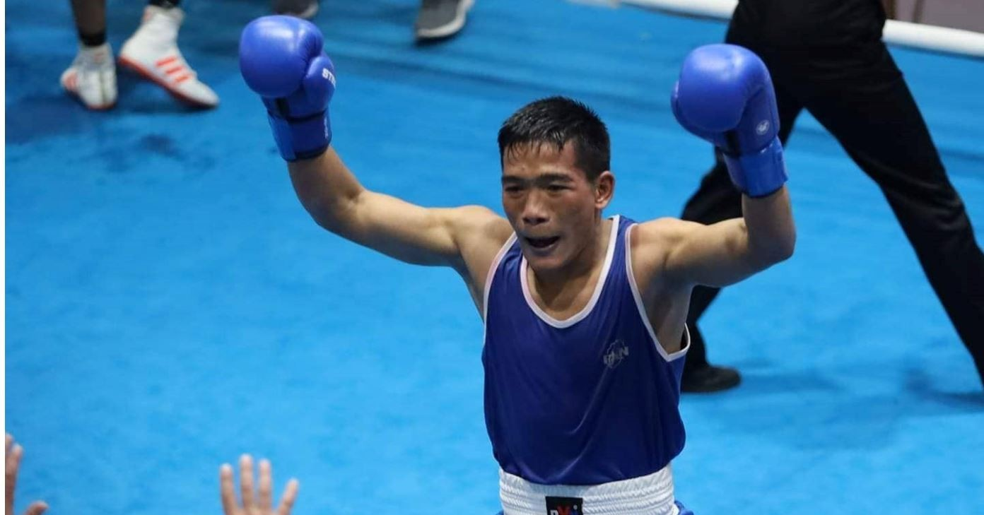13th SAG: Bhupendra Thapa Bags Gold In Men's Boxing
