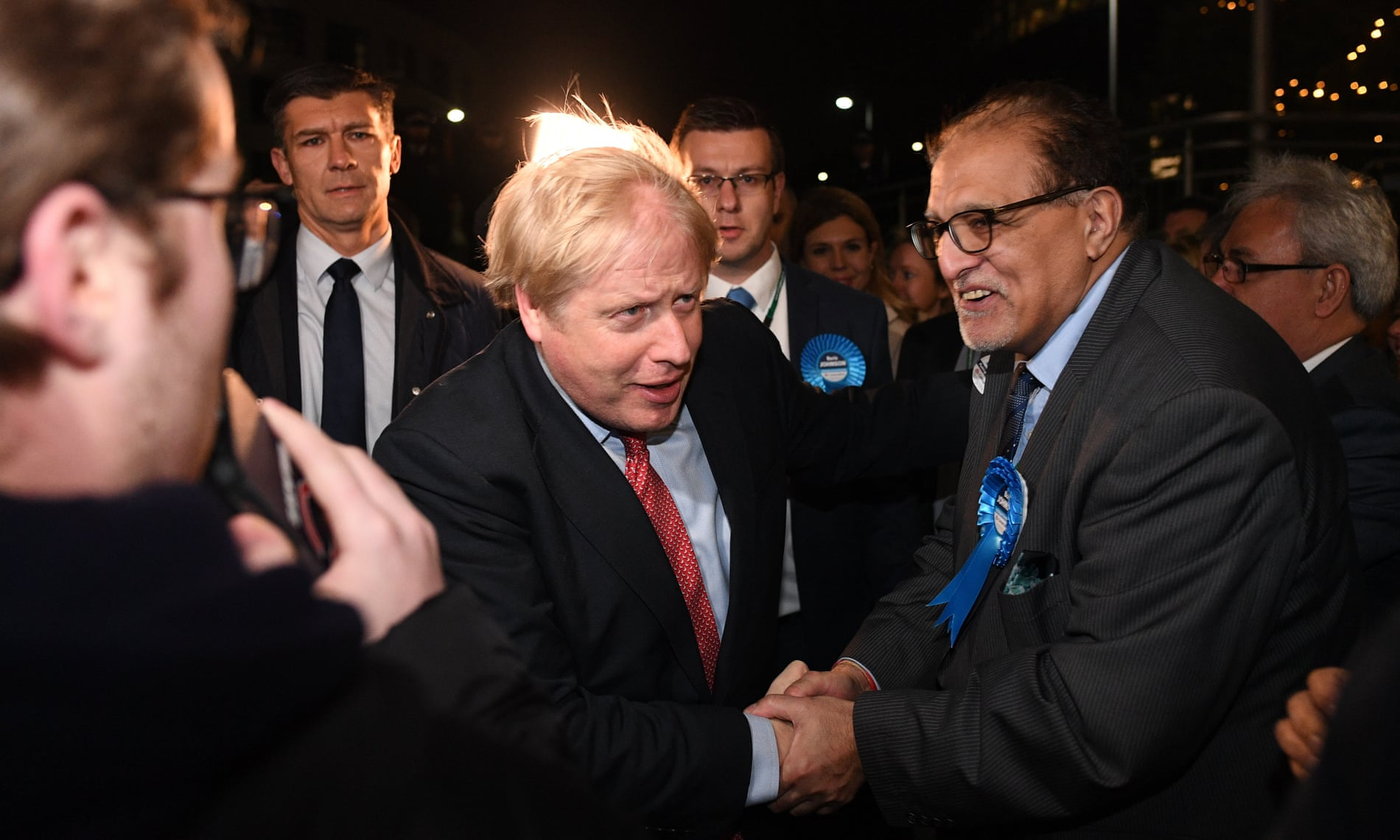Boris Johnson leads Tories to historic general election win