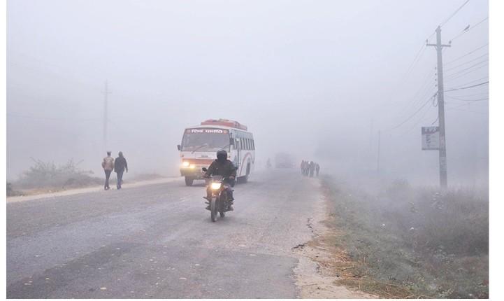 Kathmandu Valley Records Lowest Temperature