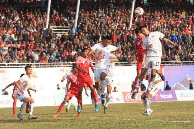 Nepal Defeats Bhutan, Hauls Gold In Men's Football