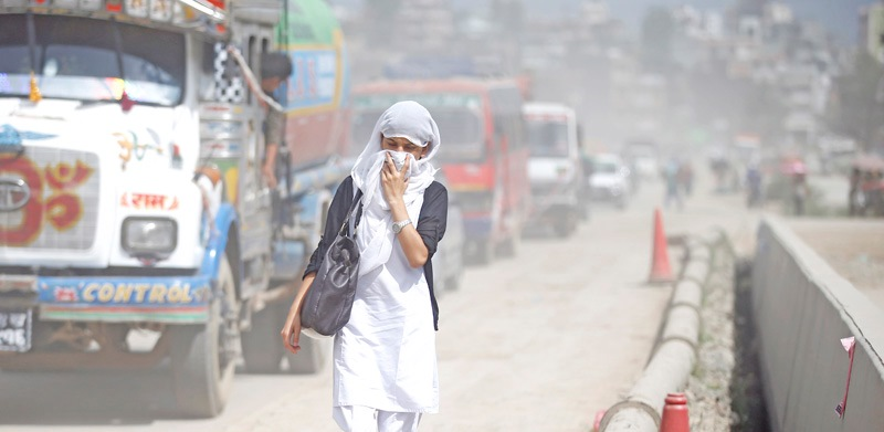 Nepal Among 10 Most Polluted Countries