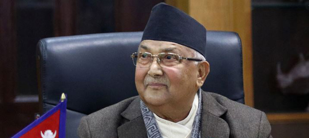 PM Oli Stresses Psychological Counselling To Fight COVID-19