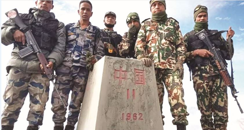 Missing Border Pillar No. 11 Traced In Namkha Of Humla