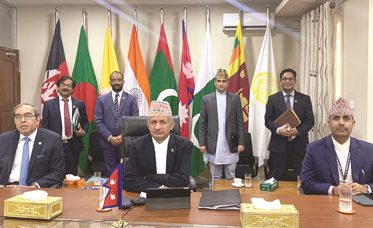 FM Gyawali For Increasing Regional Cooperation