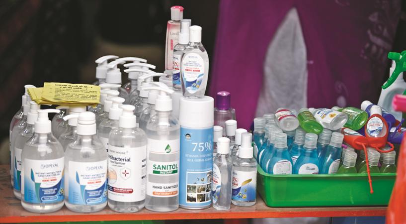 Half Sanitisers In Market Ineffective To Kill Virus