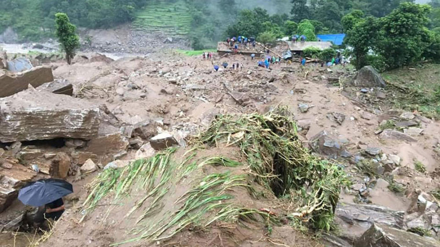 High Security Alert In Sindhupalchowk As 6-magnitude Quake Poses Further Risk To Landslides