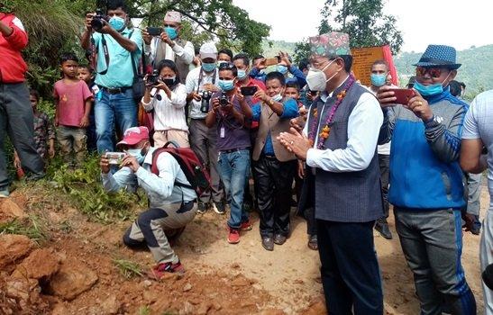 Jhyadi-Deurali Road Section Up-Gradation Begins