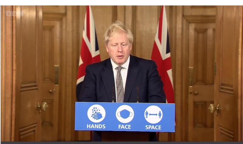 COVID-19: PM Announces Four-Week England Lockdown
