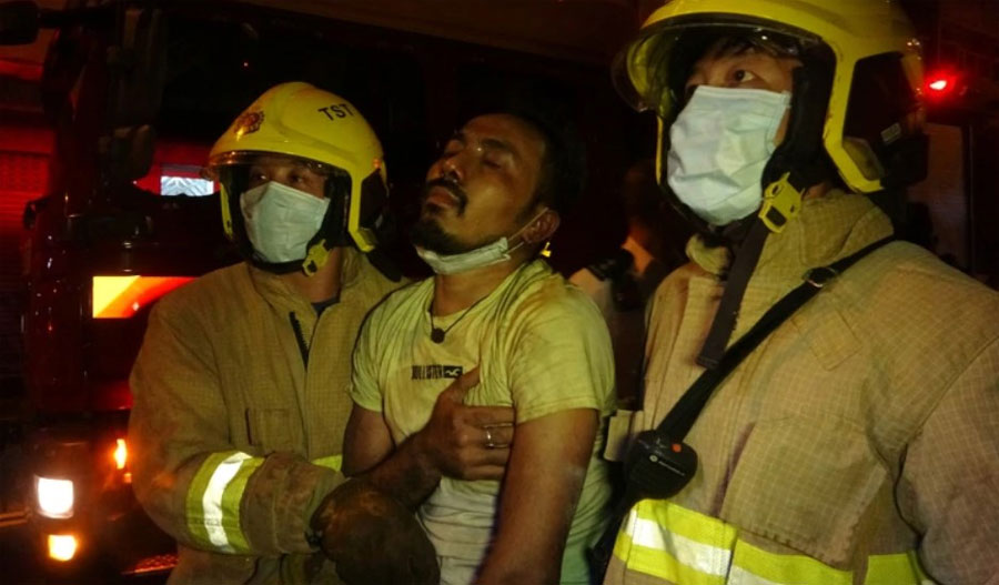 Seven Nepalis Killed As Fire Breaks Out At Hong Kong Restaurant