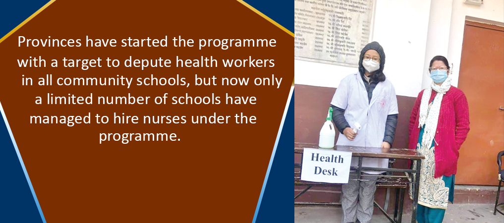 Provinces Implementing School Nursing Scheme To Retain Girls