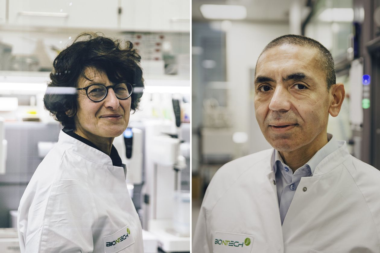 How A Couple's Quest To Cure Cancer Led To The West's First Covid-19 Vaccine