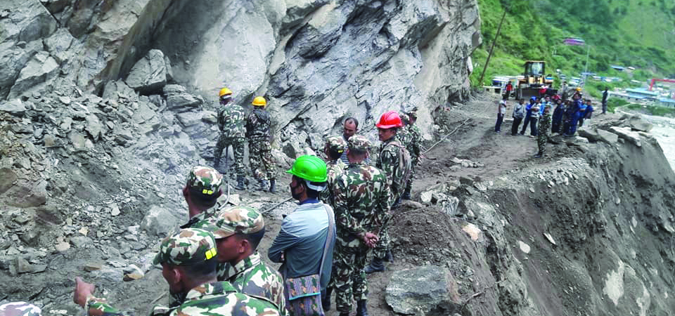 Nepali Army Completes 30 Projects Constructing 1,272 Km Road