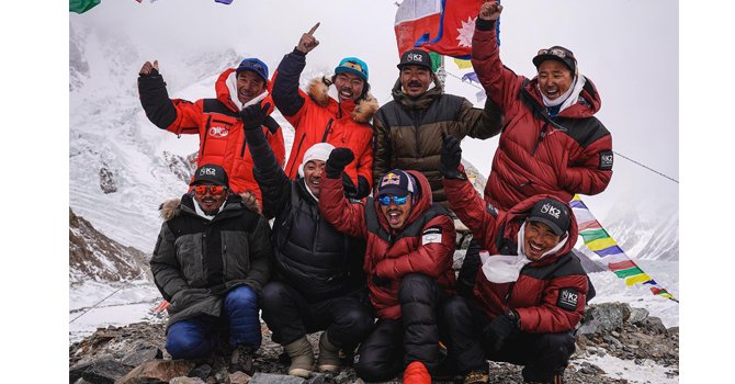 K2 Winter Summiteers Receive A Rousing Welcome Home
