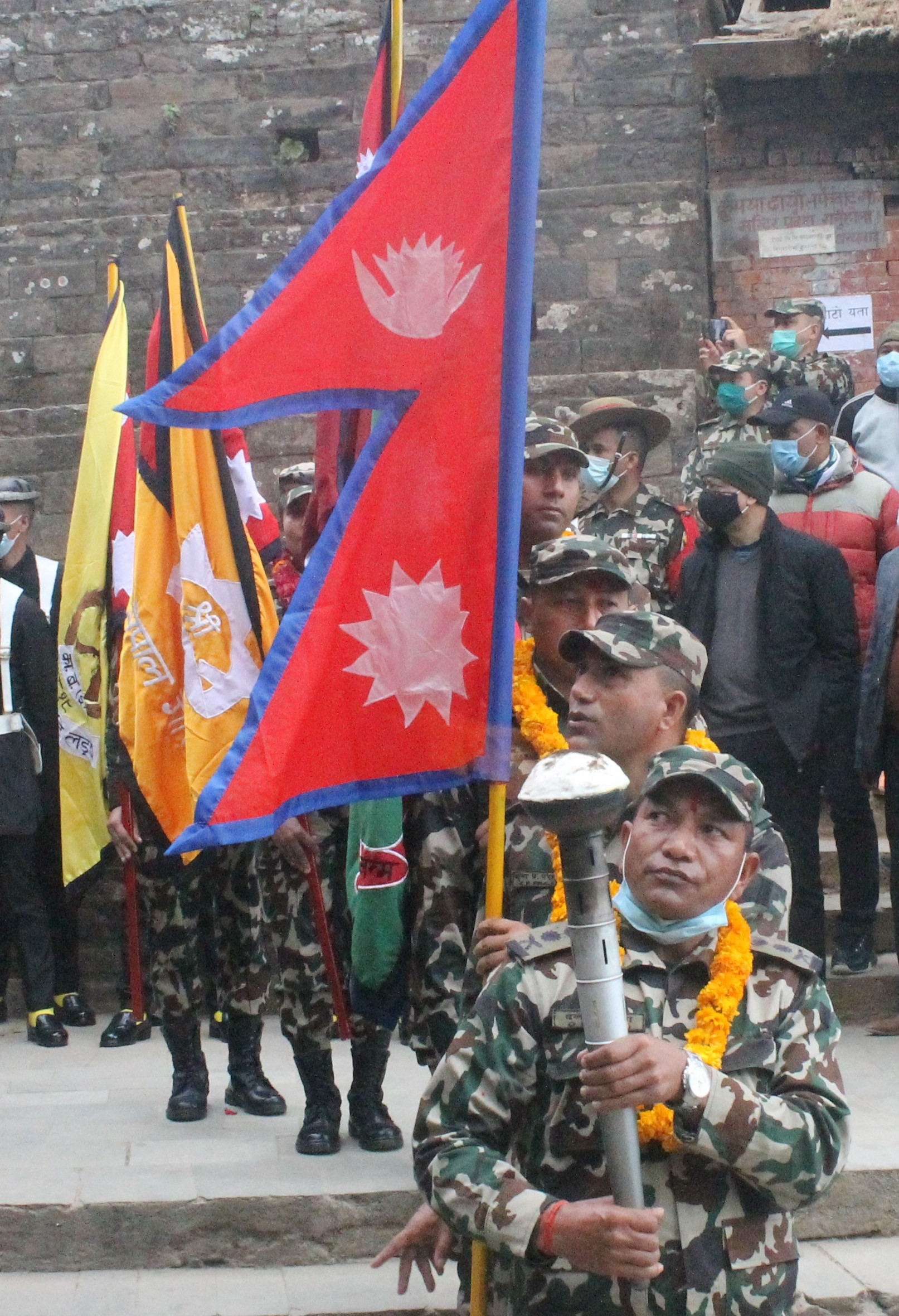 Nepali Army Launches Unification March From Gorkha
