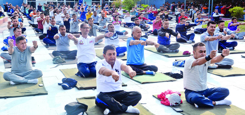 6th National Yoga Day: Yoga Key To Physical, Mental Wellbeing