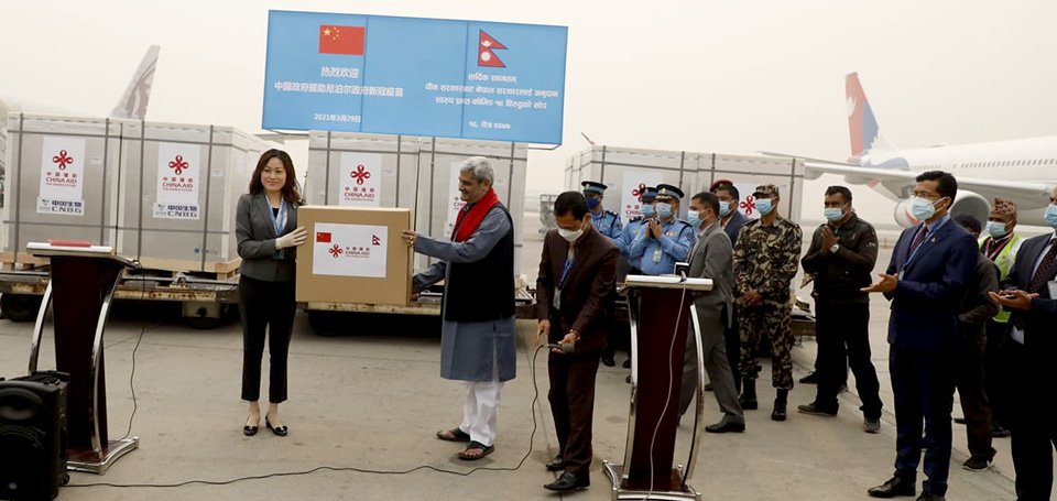 China Hands Over Vero Cell Vaccine To Nepal Under Grant Assistance