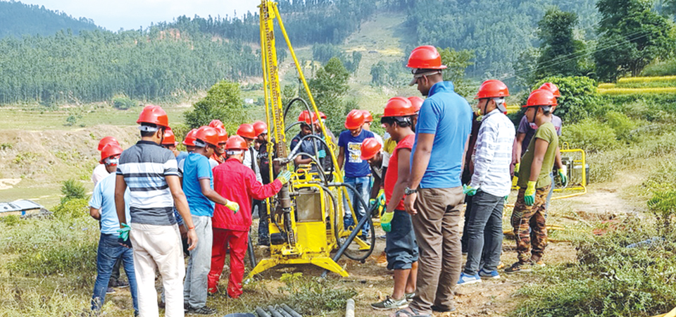 Chinese Team To Explore Petroleum In Dailekh