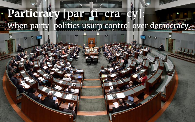 Particracy Undermines Democracy