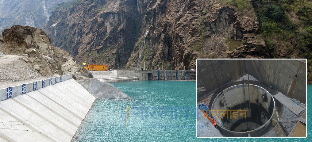 Works On Upper Tamakoshi In Full Swing