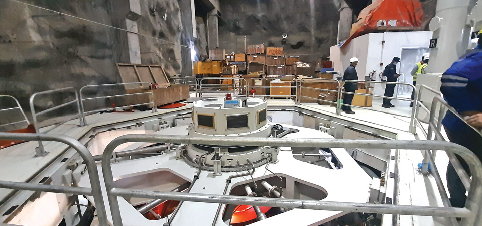 Upper Tamakoshi Tunnel Test Successful