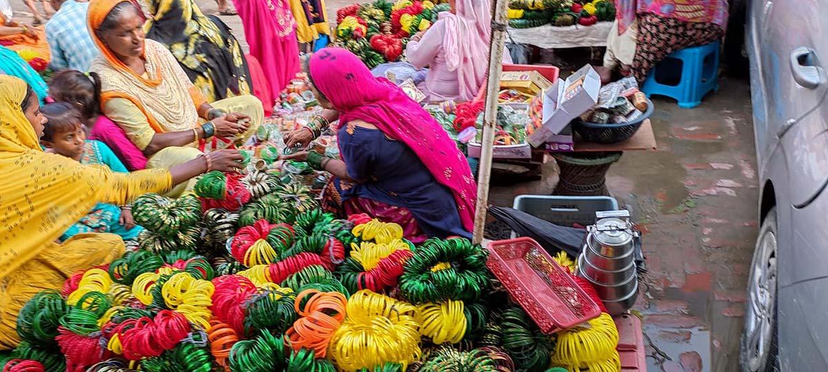 Green Bangles Sale Soars During Month Of Shrawan