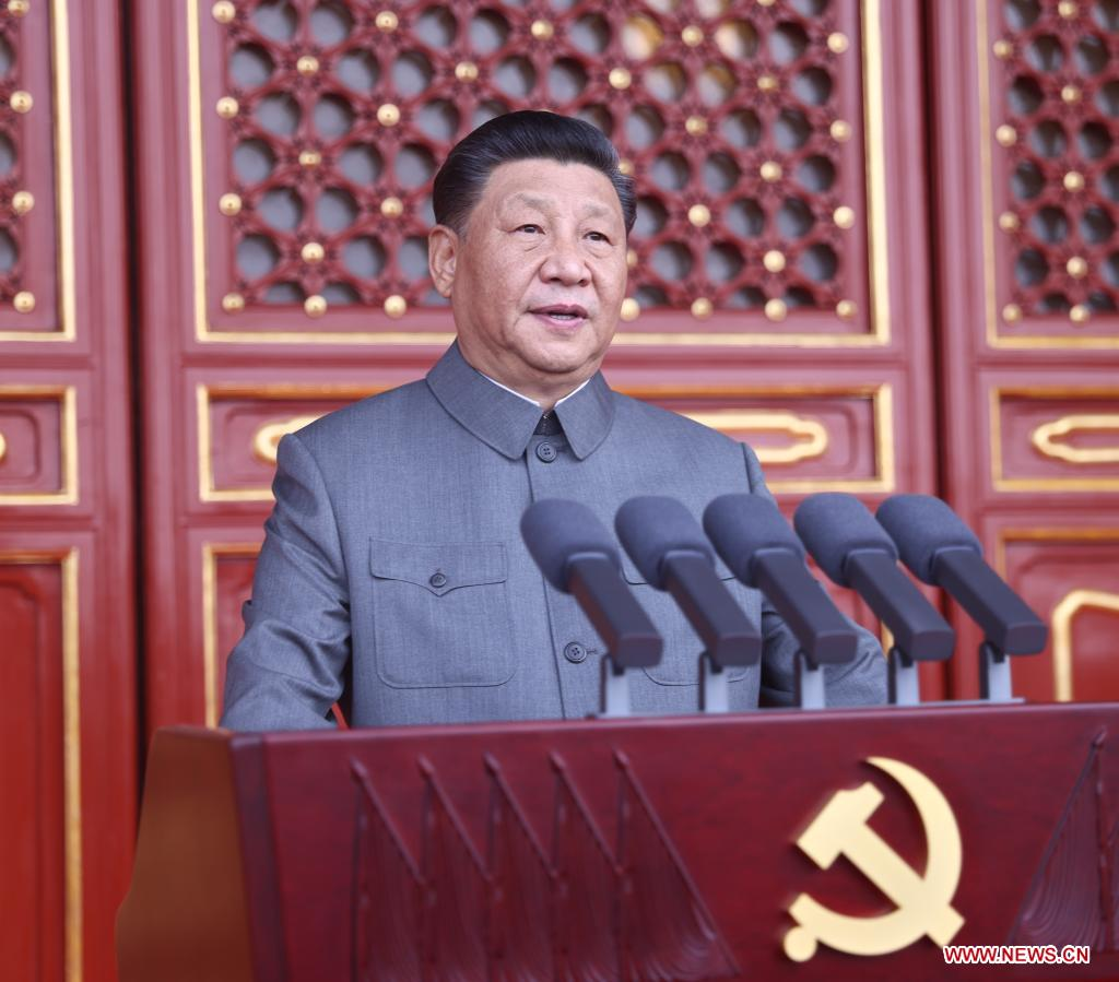 China accomplishes building of moderately prosperous society in all respects: Xi